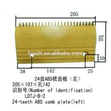Placa de pente de 22 dentes para peças de escada rolante