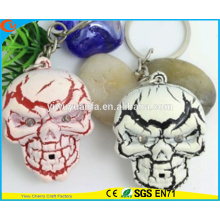 High Quality Novelty Design Halloween Assorted Sound Activated LED Keychain