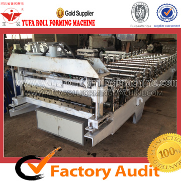 Galvanized/Aluminum Roof Sheet Glazed Tile Roll Forming Machine