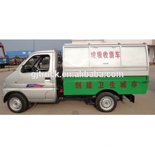 Dongfeng 4*2 small garbage truck 1T Sealed Dump Small Garbage Truck