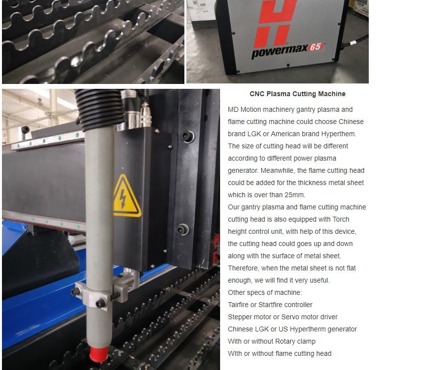 hot sale cnc plasma cutting machine