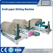 Machine de Jumbo Kraft Papier rouleau découpeuse Rewinder