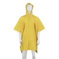 100% waterproof PVC polyester poncho raincoat