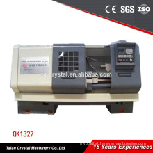Chinese cnc pipe threading lathe machine with Fanuc system QK1327