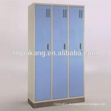 Pulverbeschichteter Garderobenschrank mit Luftlöchern