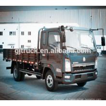 Carro de cargamento Sinotruk HOWO 4 * 2 / camión de carga ligera / camioneta ligera / camioneta / camión de carga / furgoneta / furgoneta / camión de carga