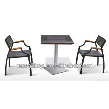Mobília de exterior de madeira pesada impermeável popular