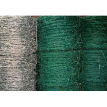 Cable de barrera de alambre de púas revestido de zinc