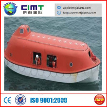 Marine 6.5M Totally enclosed common lifeboat 6P for ship