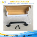 Hot Sale New Design Cast Iron Barn Door Handle With Heavy Duty Solid Square