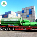 Pyrolysis Plant Making Diesel Fuel Oil from Plastic