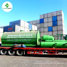 Used Oil Recycle Refinery Machine Refining Crude Oil to Diesel