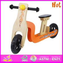 2014 vente chaude de haute qualité en bois vélo de route, en bois équilibre vélo de route, nouvelle mode enfants vélo de route W16c056
