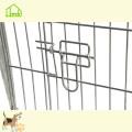 Timbre galvanized iron wire fence