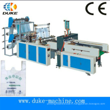 Good Market Gbde-600 Hot Sale à grande vitesse automatique T-Shirt Bag Making Machine