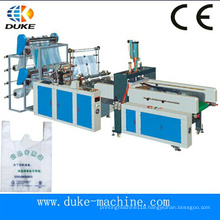 Good Market Gbde-600 Hot Sale High Speed Automatic T-Shirt Bag Making Machine