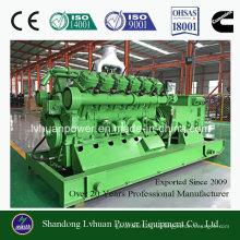 100квт биомассы газа генераторная установка или генератор CE и ISO утвержденный