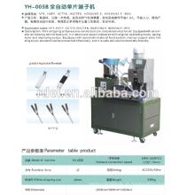 Alta precisão bs1363 plug insert crimp terminal máquina
