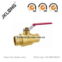 Válvula de bola de latón J2022 Válvula de barra C / C 25