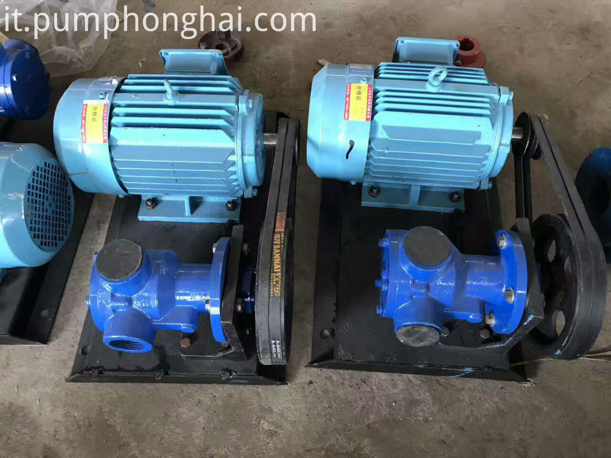 viscosity oil pump