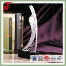 Sandblet eleganter Kristallpreis (JD-CT-405)