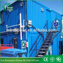 prefab container carport steel frame public toilet shower room