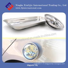 Permanent / Strong / Stainless Steel / Plastic / Magnetic Tray