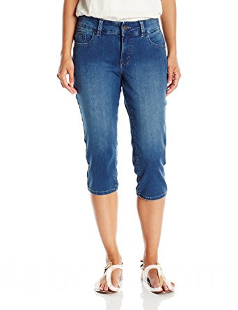 546blended Capris Ladies Denim Pants