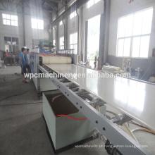 Cofragem, placa de móveis, madeira, plástico, composto, wpc, linha, linha de produção