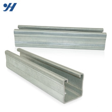 Made In China Different Sizes galvanized slotted c channels, gi steel c channel