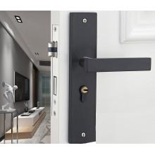 European Door Lock Home Silence Indoor Bedroom Door Handle GO-SH3