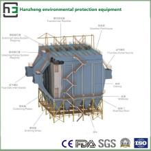 Amplio espacio del extractor electrostático lateral del colector-polvo