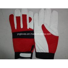 Labor Glove-Sheep Skin Glove-Goat Skin Glove-Safety Glove-Leather Glove-Working Leather Glove