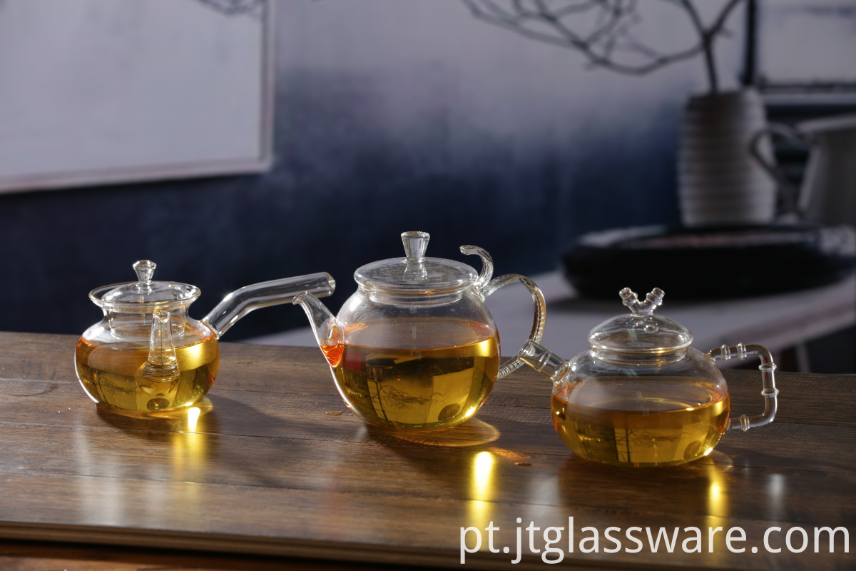 Mouthblown Glass Teapot