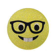 Best Price Happy Face Custom 3D Crystal Sticker