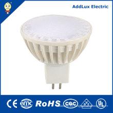 220V que atenúa el proyector de Gu5.3 4W 6W 7W SMD LED