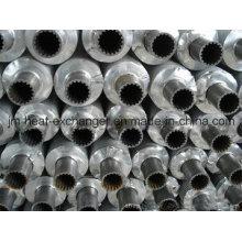 Tubo condensador con aleta de aluminio