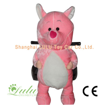 Pink Pig Rider animaux Coin Operated Machine