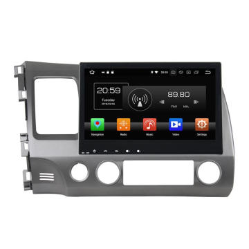 Navigation Multimedia Player Car Stereo for Civic 2006