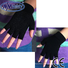 NMSAFETY half finger knit gloves