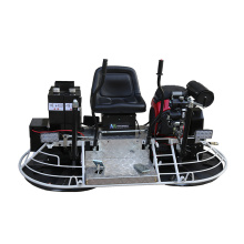 Concrete driving edging power trowel double machine