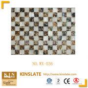 2013 TV natural shell tile and popular abalone shell mosaic