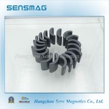 Изготовленный на заказ постоянный магнит феррита дуги с RoHS