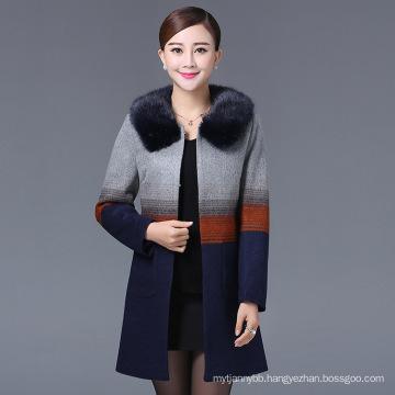 Elegence Winter Coat for Middle Age Women