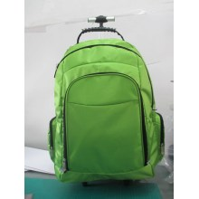 Backpack with Trolley and Double Shoulder