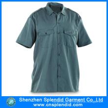 Großhandel Arbeitskleidung Produkte Männer Oxford Short Sleeves Shirt