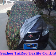 Printed Logo Car Cover of 100% Polyester Taffeta Fabric