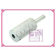 Professional 316L acero inoxidable tatuaje agarre con tubo