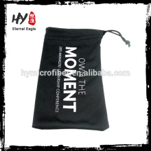 Superfine óculos saco de tecido, microfibra de esqui goggle sacos, óculos saco de tecido