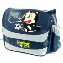 Alibaba China Wholesale Coustom Cute Animal Pictures Printing 600D PVC School Bags/Backpacks of Latest Designs For Children